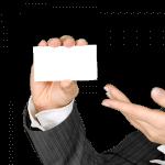névjegykártya készítése