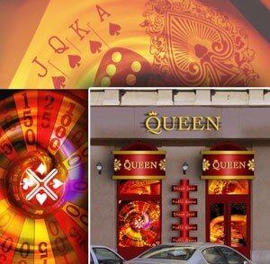 Portálterv, casino dekoráció