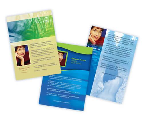 szórólap tervezés, grafikai tervezés, dtp, arculattervezés