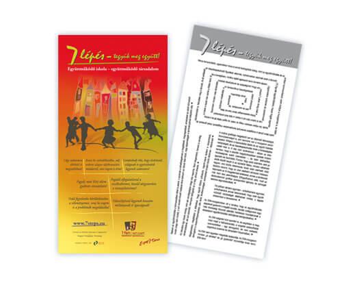 szórólap tervezés,  kiadvány tervezés, grafikai tervezés, dtp, arculattervezés