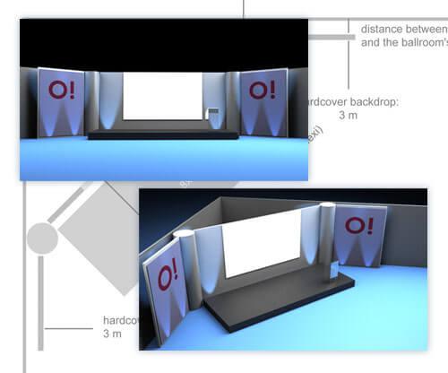 színpad látványtervezés, 3D tervezés