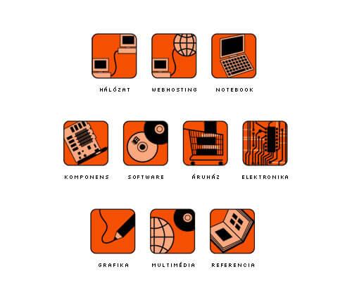 Piktogram tervezés, arculat tervezés, logó tervezés