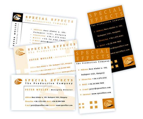 névjegykártya tervezés, arculattervezés, cég arculat, logó tervezés