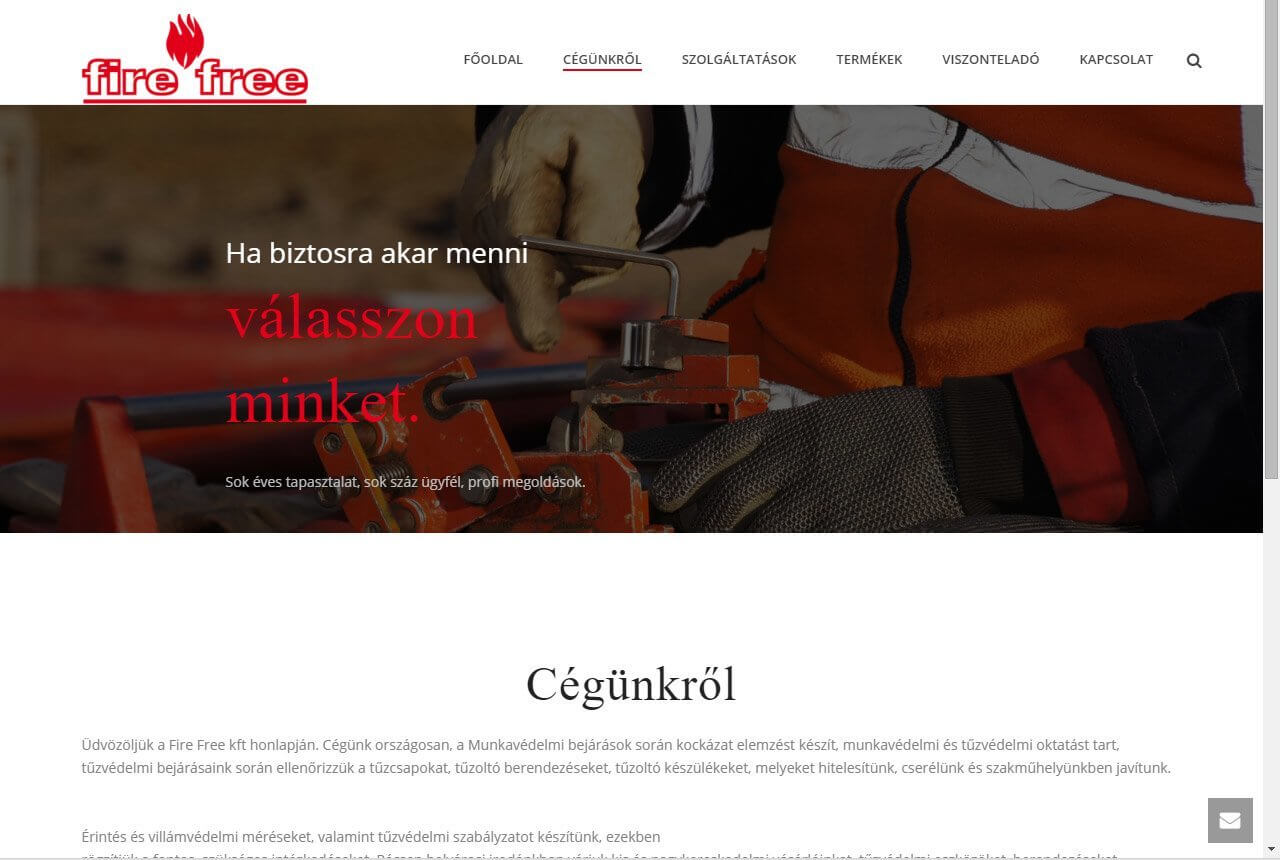 weblap készítés, fejlesztés, honlap tervezés