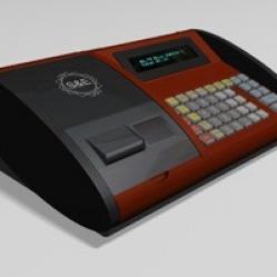 Pénztárgép készítése, formatervezés