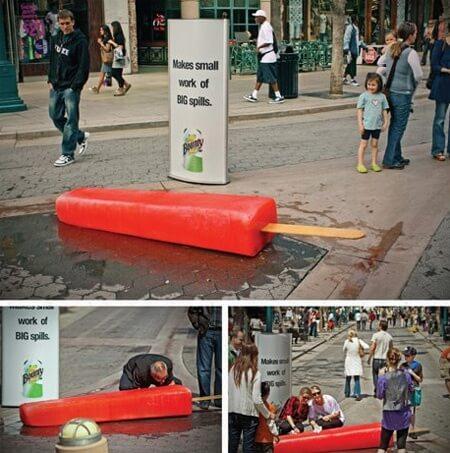gerillamarketing reklám