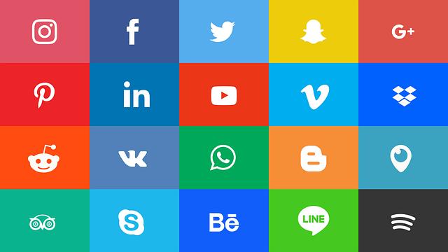 Social média ikonok